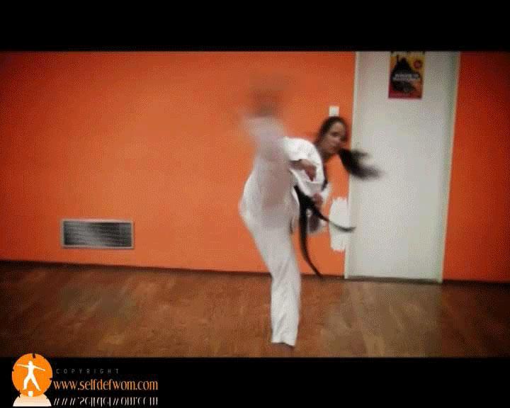 FightingDream.com | Amanda tkd black belt kicks ...